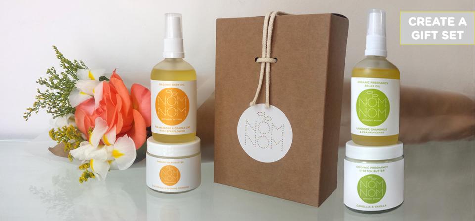 nom nom organic skincare gift set